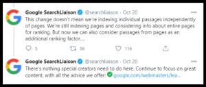 Search Liaison